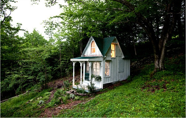 The tiniest cottage you've ever seen / la cabañita más pequeña que hayas visto!!! / casahaus.net