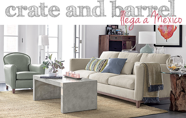 crate and barrel mexico
