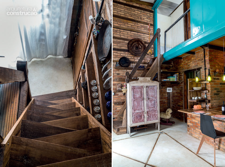 casa_haus_reclaimed_materGorgeous home built with reclaimed materials and a container // Increíble casa hecha con un contenedor y materiales reciclados // casahaus.net