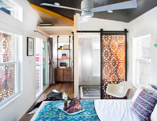 Tiny house in Austin / Hermosa casa en 40 m2 // casahaus.net