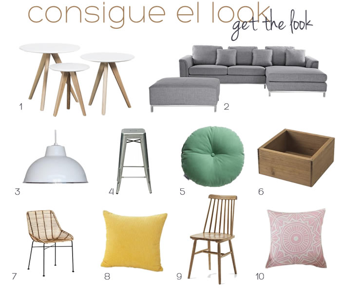 Steal the look from Pascal Francois' home / Consigue el look de la casa de Pascal Francois // casahaus.net