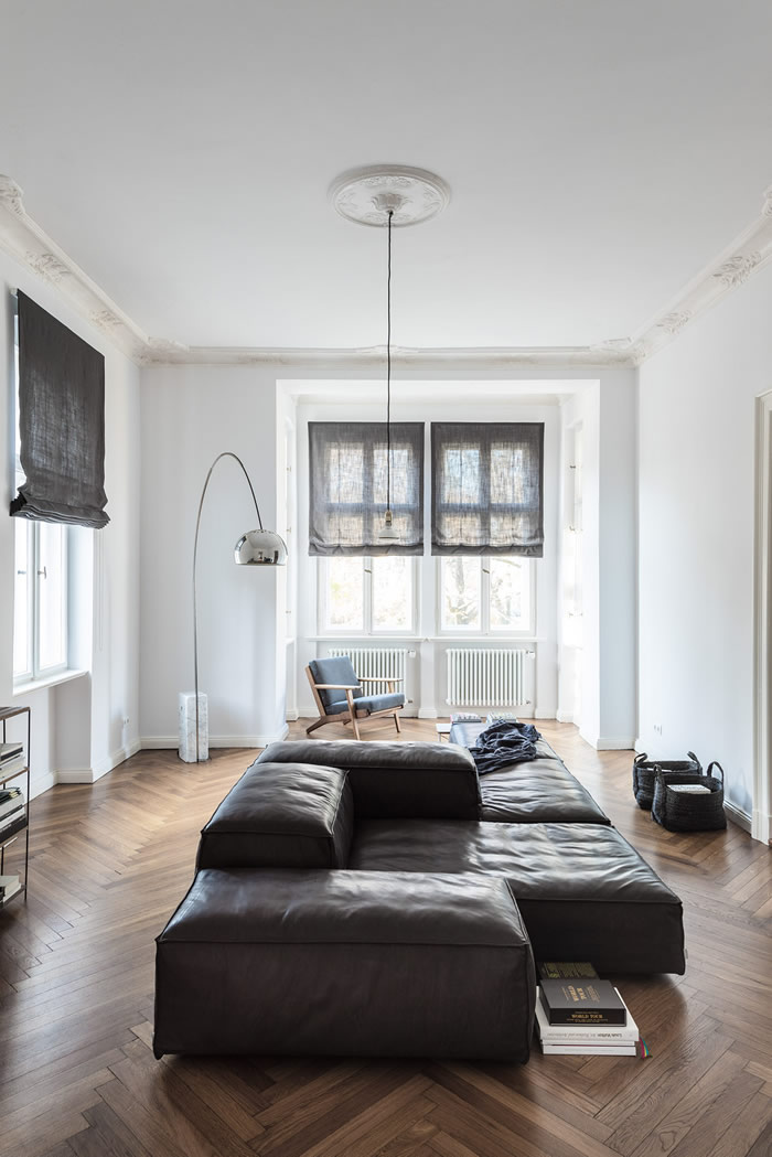 Neutral, masculine home in Berlin | Departamento masculino y neutral en Berlín | casahaus.net