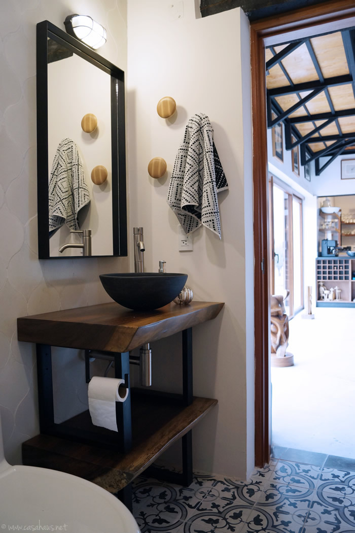Rustic Industrial Powder Room To Full Bathroom Reveal