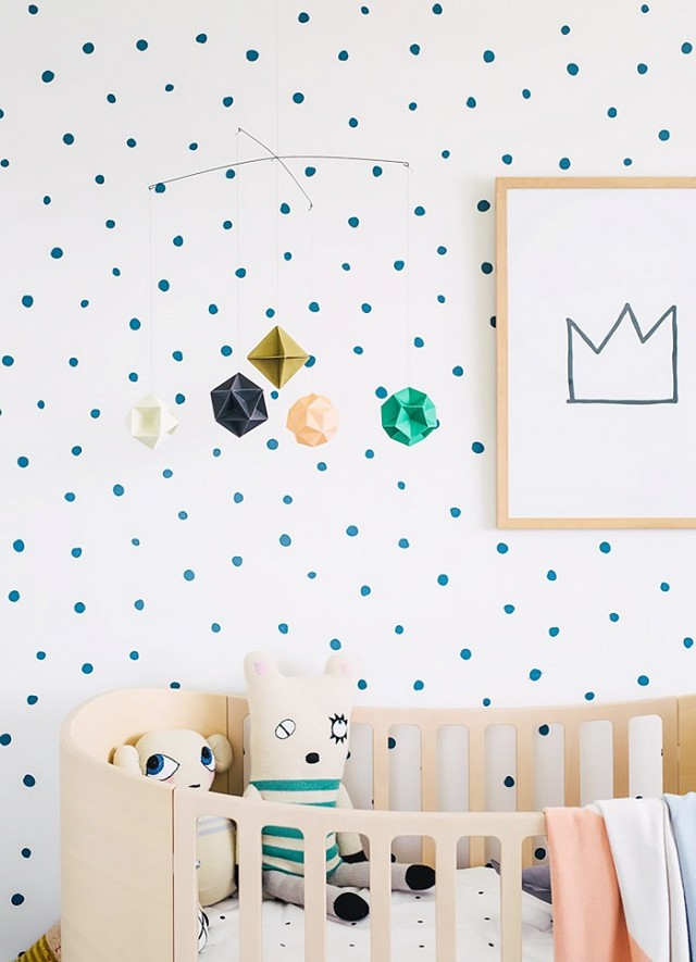 10 ideas para transformar el cuarto de los ni os con for Paredes decoradas con pintura