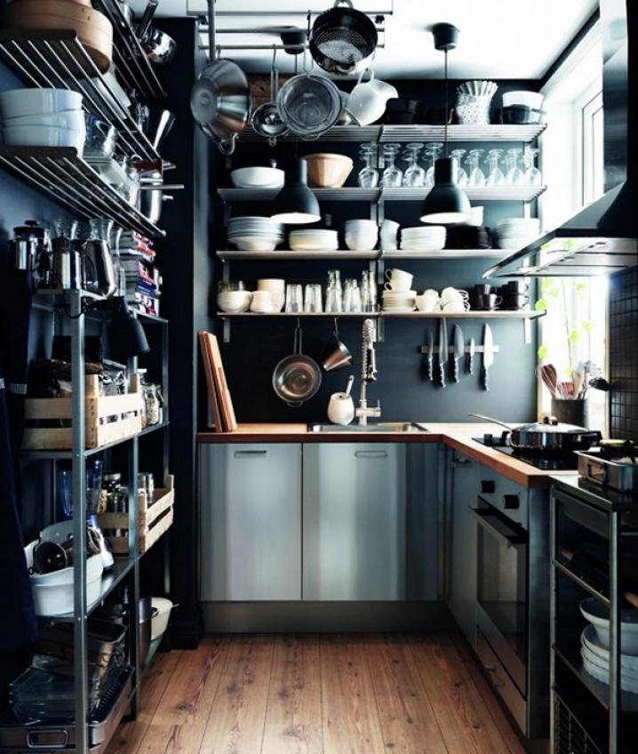 13 tiny but lovely kitchens / 13 cocinas chiquitas pero picosas :) Casa Haus Deco