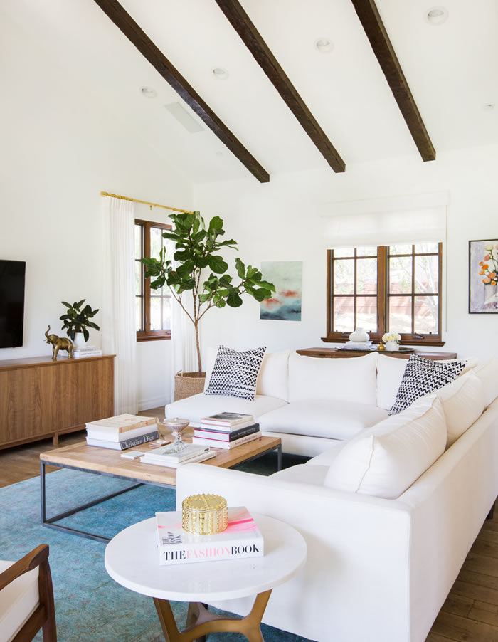 At home with Lauren Conrad / En casa de Lauren Conrad / Casa Haus