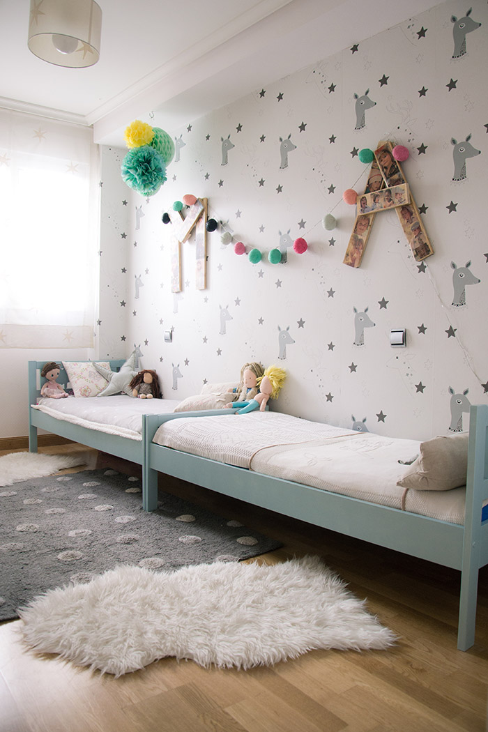 Kids shared bedroom / Habitación infantil compartida