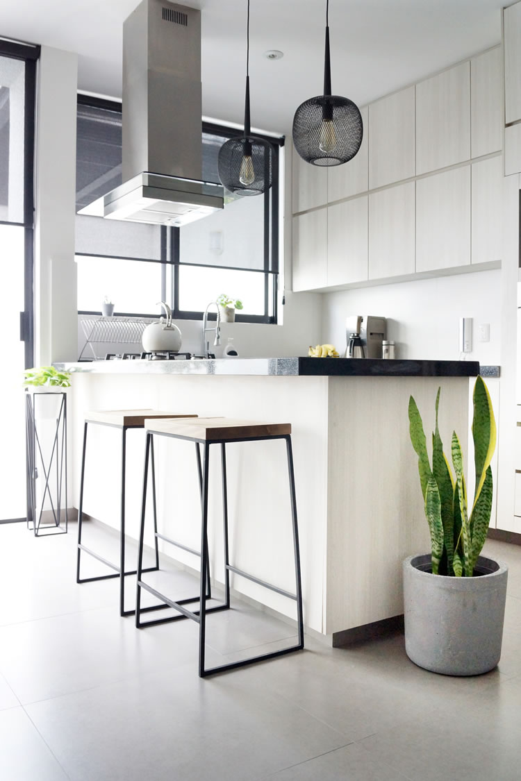 Scandi inspired kitchen and dining room makeover / Transformación de cocina y comedor estilo nórdico Scandi - Casa Haus Deco