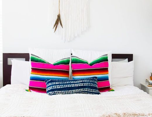 Mexappeal - 10 ideas para decorar con sarapes mexicanos / How to decorate with a Mexican serape - Casa Haus